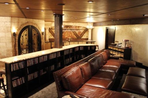 Theater Room/ Wine Cellar